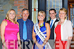 Patricia, James, Louise O'Sullivan, Declan Sugrue and Mary O'Sullivan show their support for Louise at the Lily of Killarney in the Killarney Oaks Hotel on Friday night..