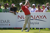 Padraig Harrington (IRL) tees off on the 13th tee during Sundays Final Round 3 of the 54 hole Iskandar Johor Open 2011 at the Horizon Hills Golf Resort Johor, Malaysia, 19th November 2011 (Photo Eoin Clarke/www.golffile.ie)