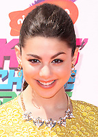 WESTWOOD, LOS ANGELES, CA, USA - JULY 17: Kira Kosarin at the Nickelodeon Kids' Choice Sports Awards 2014 held at UCLA's Pauley Pavilion on July 17, 2014 in Westwood, Los Angeles, California, United States. (Photo by Xavier Collin/Celebrity Monitor)