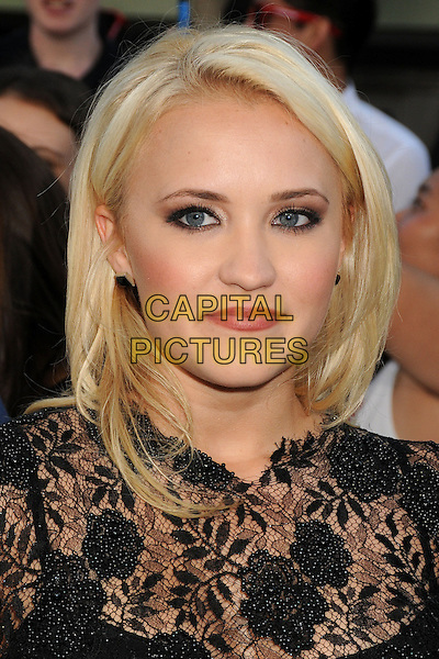 10 June 2014 - Westwood, California - Emily Osment. &quot;22 Jump Street&quot; Los Angeles Premiere held at the Regency Village Theatre. <br /> CAP/ADM/BP<br /> &copy;Byron Purvis/AdMedia/Capital Pictures
