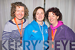 Joan Dineen, Cork Institute of Technology, Teresa  Richardson, ITT co-ordinator of FITTSPORT and Mary Coleman, fitness instructor at the FITTSPORT convention on Friday.