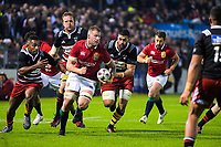 Ross Moriarty in action during the 2017 DHL Lions Series rugby union match between the NZ Provincial Barbarians and British & Irish Lions at Toll Stadium in Whangarei, New Zealand on Saturday, 3 June 2017. Photo: Dave Lintott / lintottphoto.co.nz