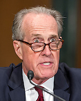 James Clark, Chief Deputy, Office of the Los Angeles<br /> City Attorney, testifies before the United States Senate Committee on Banking, Housing and Urban Affairs during the hearing to examine Wells Fargo&iacute;s unauthorized accounts and the regulatory response on Capitol Hill in Washington, DC on Tuesday, September 20, 2016. Photo Credit: Ron Sachs/CNP/AdMedia
