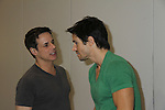 Christian LeBlanc & Brandon Beemer at the Soapstar Spectacular starring actors from OLTL, Y&R, B&B and ex ATWT & GL on November 20, 2010 at the Myrtle Beach Convention Center, Myrtle Beach, South Carolina. (Photo by Sue Coflin/Max Photos)