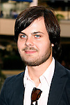 """HOLLYWOOD, CA. - September 16: Spencer Smith of Panic at the Disco arrives at """"Jennifer's Body"""" Hot Topic Fan Event at Hot Topic on September 16, 2009 in Hollywood, California."""