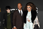 BEVERLY HILLS, CA - NOVEMBER 05: (L-R) Honorees Diane Warren, Common and Andra Day attend the 21st Annual Hollywood Film Awards at The Beverly Hilton Hotel on November 5, 2017 in Beverly Hills, California.