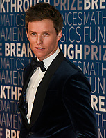 MOUNTAIN VIEW, CA - NOVEMBER 04: Eddie Redmayne attends the 2019 Breakthrough Prize at NASA Ames Research Center on November 4, 2018 in Mountain View, California. <br /> CAP/MPI/SPA<br /> &copy;SPA/MPI/Capital Pictures