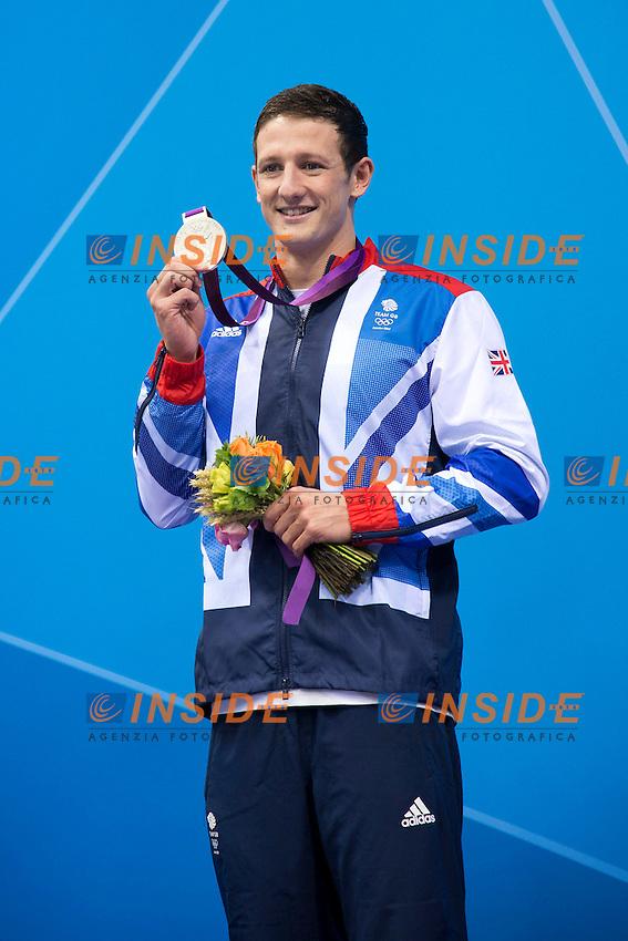 JAMIESON Michael GBR (silver medal).men 200 Breaststroke.swimming finals.London 2012 Olympics - Olimpiadi Londra 2012.day 06 August 1.Photo G.Scala/Deepbluemedia.eu/Insidefoto
