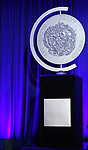 Tony Award on stage during the 2017 Tony Awards Nominations Announcement at The New York Public Library for the Performing Arts on May 2, 2017 in New York City