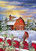 Marcello, CHRISTMAS LANDSCAPES, WEIHNACHTEN WINTERLANDSCHAFTEN, NAVIDAD PAISAJES DE INVIERNO, paintings+++++,ITMCXM1926,#XL#