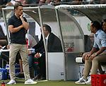 12.08.2018, Commerzbank - Arena, Frankfurt, GER, Supercup, Eintracht Frankfurt vs FC Bayern M&uuml;nchen , <br />DFL REGULATIONS PROHIBIT ANY USE OF PHOTOGRAPHS AS IMAGE SEQUENCES AND/OR QUASI-VIDEO.<br />im Bild<br />Trainer Niko Kovac (M&uuml;nchen), Sportdirektor Hasan Salihamidzic (M&uuml;nchen)<br /> <br /> Foto &copy; nordphoto / Bratic