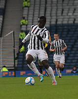 Esmael Goncalves in the St Mirren v Celtic Scottish Communities League Cup Semi Final match played at Hampden Park, Glasgow on 27.1.13.