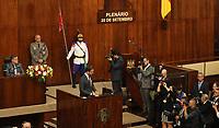 PORTO ALEGRE, RS, 01.01.2019 - POSSE-RS - O governador eleito do Rio Grande do Sul, Eduardo Leite durante sua posse na Assembleia Legislativa em Porto Alegre (RS), nesta terça-feira, 1. (Foto: Naian Meneghetti/Brazil Photo Photo Press)