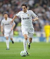 FUSSBALL   CHAMPIONS LEAGUE   SAISON 2011/2012  Achtelfinale Rueckspiel 14.03.2012 Real Madrid  - ZSKA Moskau  Kaka (Real Madrid) am Ball