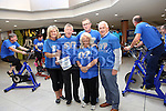 Valerie Campbell, Joe Sweeney, Shirley Matthews, Noel Feeney and Declan Breathnach at the Spinathon in aid of St Vincent de Paul<br /> <br /> Photo - Jenny Matthews