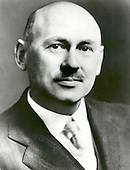 Doctor Goddard has been recognized as the father of American rocketry and as one of the pioneers in the theoretical exploration of space.  Robert Hutchings Goddard, born in Worcester, Massachusetts, on October 5, 1882, was theoretical scientist as well as a practical engineer. His dream was the conquest of the upper atmosphere and ultimately space through the use of rocket propulsion. Doctor Goddard, died in 1945, but was probably as responsible for the dawning of the Space Age as the Wrights were for the beginning of the Air Age. Yet his work attracted little serious attention during his lifetime. However, when the United States began to prepare for the conquest of space in the 1950's, American rocket scientists began to recognize the debt owed to the New England professor. They discovered that it was virtually impossible to construct a rocket or launch a satellite without acknowledging the work of Doctor Goddard. More than 200 patents, many of which were issued after his death, covered this great legacy. .Credit: NASA via CNP
