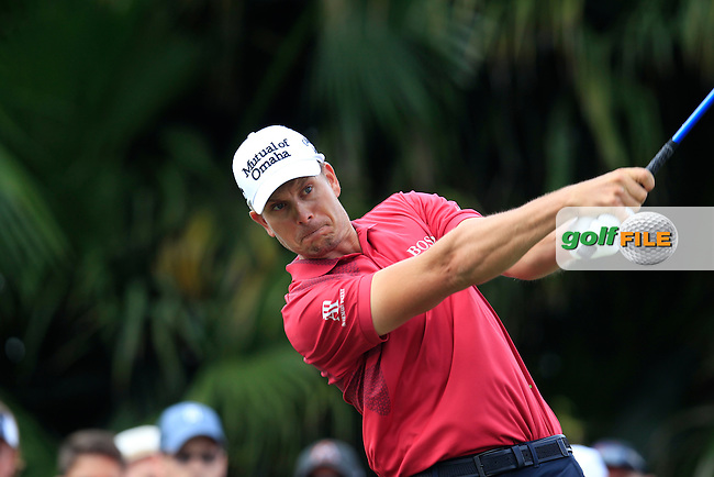 Henrik Stenson (SWE) during the 3rd round at the WGC Cadillac Championship, Blue Monster, Trump National Doral, Doral, Florida, USA<br /> Picture: Fran Caffrey / Golffile