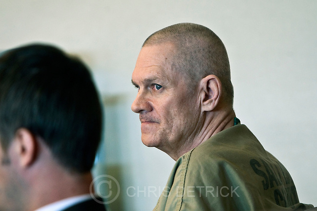 Photo by Chris Detrick | The Salt Lake Tribune .Bennett Pace during his preliminary hearing at the Scott M. Matheson Courthouse Monday May 16, 2011. Pace stands accused of stabbing 48-year-old James Anderson Porter to death on Feb. 15, 2011.