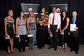 Sportswoman of the Year finalists. Counties Manukau Sport Sporting Excellence Awards held at Testra Clear Pacific Events Centre, Manukau, on Thursday 9th December 2010.