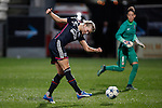 Atletico de Madrid´s (R) Gallardo and Olympique Lyonnais´s Le Sommer during UEFA Women´s Champions League soccer match between Atletico de Madrid and Olympique Lyonnais, in Madrid, Spain. November 11, 2015. (ALTERPHOTOS/Victor Blanco)