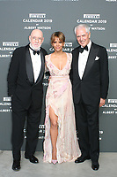 Marco TRONCHETTI PROVERO,Halle BERRY,Albert WATSON,R_L,at the red carpet of the Pirelli Calendar launch 2019,Hangar Biccoca,MILANO,05.12.2018 Credit: Action Press/MediaPunch ***FOR USA ONLY***