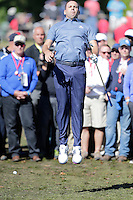 Sergio Garcia (Team Europe) on the 3rd during the Friday afternoon Fourball at the Ryder Cup, Hazeltine national Golf Club, Chaska, Minnesota, USA.  30/09/2016<br /> Picture: Golffile | Fran Caffrey<br /> <br /> <br /> All photo usage must carry mandatory copyright credit (&copy; Golffile | Fran Caffrey)