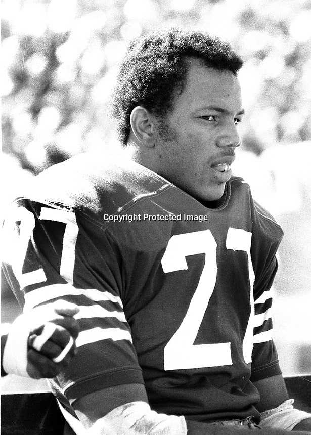 Al Randolph San Francisco 49ers . (1969 photo/Ron Riesterer)