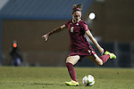 23 October 2014: Florida State's Megan Campbell (IRL). The University of North Carolina Tar Heels hosted the Florida State University Seminoles at Fetzer Field in Chapel Hill, NC in a 2014 NCAA Division I Women's Soccer match. The game ended in a 1-1 tie after double overtime.