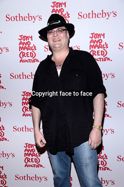 EW YORK, NY - NOVEMBER 23,2013: John Popper pictured at Jony And Marc's (RED) Auction at Sotheby's on November 23, 2013 in New York City<br /> Credit: MediaPunch/face to face<br /> - Germany, Austria, Switzerland, Eastern Europe, Australia, UK, USA, Taiwan, Singapore, China, Malaysia, Thailand, Sweden, Estonia, Latvia and Lithuania rights only -