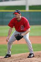 David Herndon    - Los Angeles Angels 2009 spring training.Photo by:  Bill Mitchell/Four Seam Images