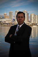 Glenn James gets photographed in Vancouver BC.  At our Art of Headshots portrait studio in Olympic Village