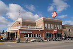 WY: Wyoming, Cody:.Buffalo Bill's Hotel Irma.Photo #: yellow760..Photo copyright Lee Foster, 510/549-2202, lee@fostertravel.com, www.fostertravel.com..