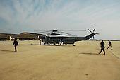 United States President Barack Obama arrives at Joint Base Andrews on June 12, 2011..Credit: Bill Auth / Pool via CNP
