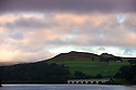 02/10/16 <br /> <br /> Dawn breaks after a cold night over Ladybower Reservoir in the Derbyshire Peak District this morning. <br /> <br /> All Rights Reserved: F Stop Press Ltd. +44(0)1773 550665   www.fstoppress.com