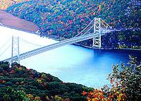 Bear Mountain Bridge in the Fall.