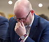 UKIP manifesto launch, Westminster, London, Great Britain <br /> 25th May 2017 <br /> <br /> Paul Nuttall <br /> <br /> <br /> <br /> Photograph by Elliott Franks <br /> Image licensed to Elliott Franks Photography Services