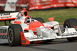 19 July 2008: Helio Castroneves (BRA) at the Honda Indy 200 IndyCar race at the Mid-Ohio Sports Car Course, Lexington, Ohio, USA.