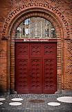 DENMARK, Copenhagen, Danish Doorway, Europe