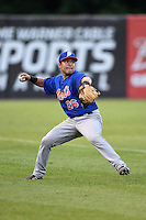 Chase Smartt (26) of Charles Henderson High School in Troy, Alabama playing for the New York Mets scout team during the East Coast Pro Showcase on July 31, 2014 at NBT Bank Stadium in Syracuse, New York.  (Mike Janes/Four Seam Images)