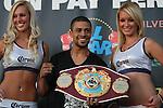 Pesaje de Wilfredo Vazquez jr vs Ivan Hernandez , para pelea de campeonato de la omb de las 122 libras...