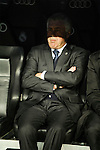 Real Madrid´s coach Carlo Ancelotti during 2014-15 La Liga match between Real Madrid and Levante UD at Santiago Bernabeu stadium in Madrid, Spain. March 15, 2015. (ALTERPHOTOS/Luis Fernandez)