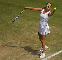 Agnieszka Radwanska (POL) (11) against  Shuai Peng (CHN) in the second round of the ladies singles. Radwanska beat Peng 6-2 6-7 9-7..Tennis - Wimbledon - Day 4 - Thur 25th June 2009 - All England Lawn Tennis Club  - Wimbledon - London - United Kingdom..Frey Images, Barry House, 20-22 Worple Road, London, SW19 4DH.Tel - +44 20 8947 0100.Cell - +44 7843 383 012