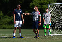 Rome, GA - Friday, June 21, 2019:  Stuart Sharp, David Garza, Carter Alvey during a Para 7 USMNT training session.