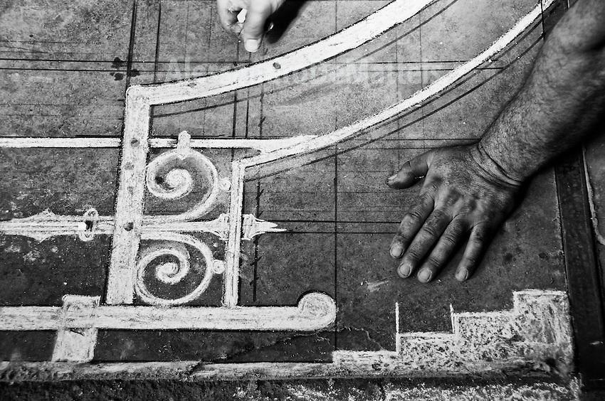 Progetto per la creazione di una struttura in ferro battuto - Poggiardo - 14 luglio 2011