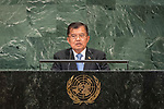 LOS general debate &ndash; 27 September<br /> <br /> PM<br /> <br /> His Excellency Muhammad Jusuf KALLA Vice President of the Republic of Indonesia