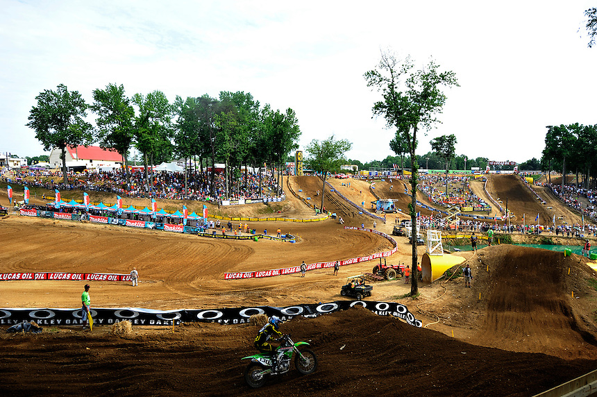 The legendary Budds Creek track hosted the Lucas Oil AMA Pro Motocross at Mechanicsville, Maryland on Saturday, June 18, 2011. Alan P. Santos/DC Sports Box