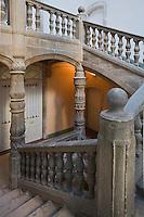 Europe/France/Aquitaine/24/Dordogne/Périgueux: Escalier renaissance de l'Hôtel de Lestrade ou Maison de La Joubertie