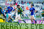 Jack Griffin Kerry scores a goal against  Cavan in the All Ireland Minor Semi Final in Croke Park on Sunday.