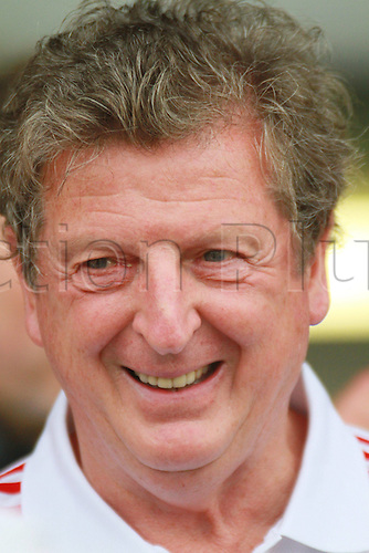 21.07.2010. Liverpool FC new manager Roy Hodgson at a pre-game practise