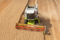 Claas Tucano 430 working in Suffolk<br />